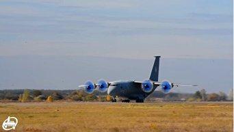 Антонов продемонстрировал новый АН-70 в полете