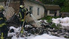 В Чернигове разбился самолет