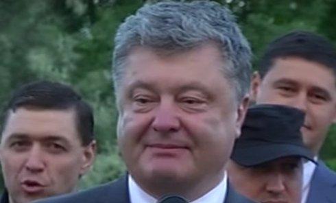 Порошенко на открытии дороги в Одесской области: аж сердце защемило. Видео