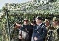 Президент Петр Порошенко в ходе рабочей поездки в Одесскую область принял участие в очередных испытаниях новейшей украинской ракетной техники