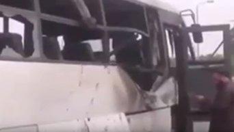 Атака на автобус с христианами в Египте. Видео