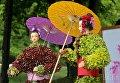Цветочный фестиваль Япония глазами Украины в Киеве