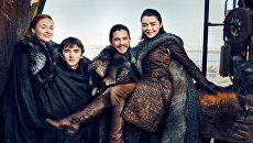 Звезды Игры престолов снялись в фотосессии для Entertainment Weekly