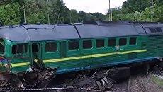 Крушение поездов возле Каменец-Подольского