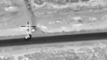 Российская авиация уничтожила более 120 боевиков ИГ возле Пальмиры. Видео
