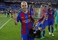 Барселона обыграла Алавес в финале Кубка Испании