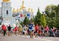 Пробег под каштанами в Киеве