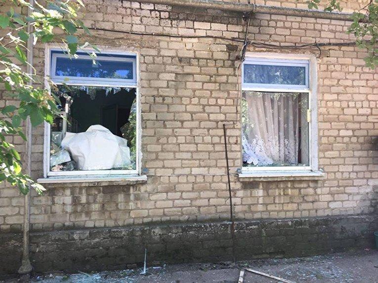 Обстрелы в Красногоровке