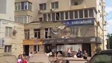 На месте прорыва трубы в Киеве, 29 мая 2017