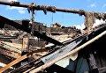 Последствия обстрела в Красногоровке