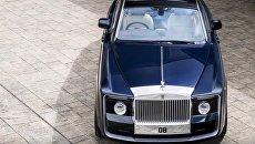 Rolls-Royce представил самый дорогой в мире автомобиль Sweptail. Видео