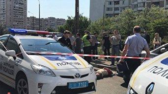 Фото с места убийства бывшего и. о. директора Укрспирта