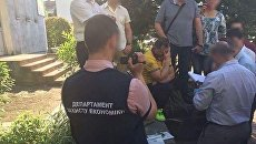 На месте задержания мэра Чопа, 30 мая 2017