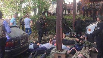 Бойня за ферму в Винницкой области: 42 человека задержаны