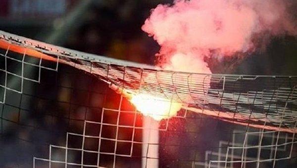 Волынь: Болельщики сорвали матч Днепр