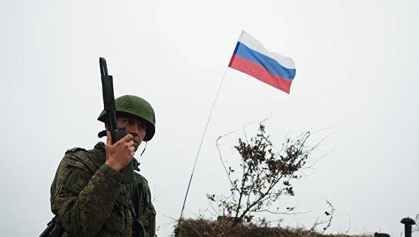 Офицер вооруженных сил РФ. Архивное фото