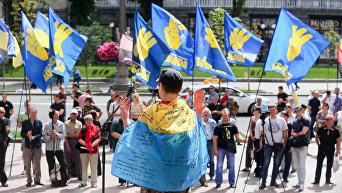 Митинг добровольцев под КГГА