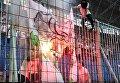 В Днепре сожгли Коломойского с пачкой долларов во рту: появилось видео