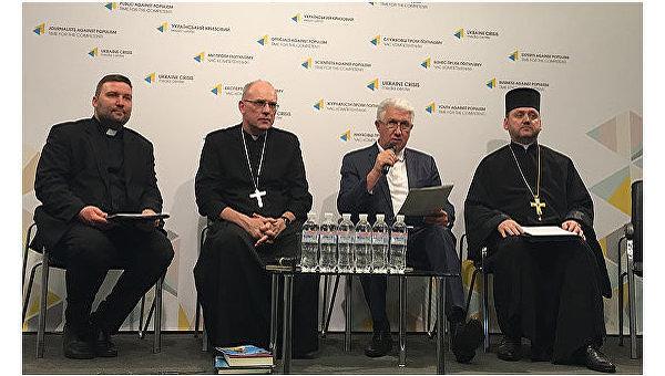 Пресс-конференция накануне Всеукраинского марша на защиту прав детей и семьи