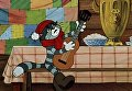 Кадр из мультфильма Трое из Простоквашино