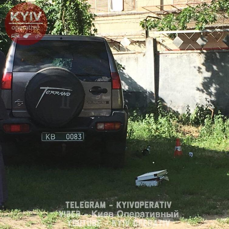 Покушение на Адама Осмаева в Киеве
