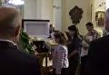 Прощание с Любомиром Гузаром во Львове. Видео