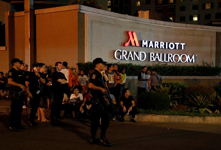 Стрельба в отеле, пожар и ограбление казино в Маниле: десятки жертв