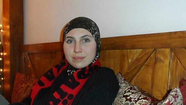 Амина Окуева. Архивное фото