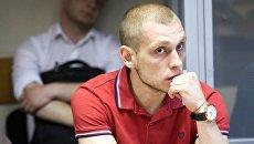 Суд по делу патрульного Сергея Олейника, подозреваемого в убийстве пассажира BMW в ходе погони в Киеве