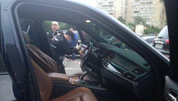 Полиция сообщила подробности стрельбы в Киеве