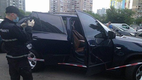 Стрельба на Харьковском шоссе в Киеве