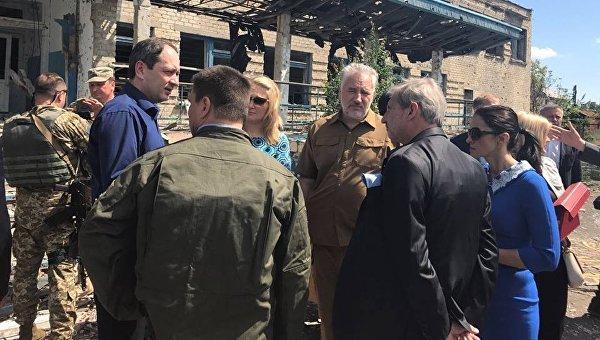 Геращенко: 8 населенных пунктов Донетчины неподлежат восстановлению