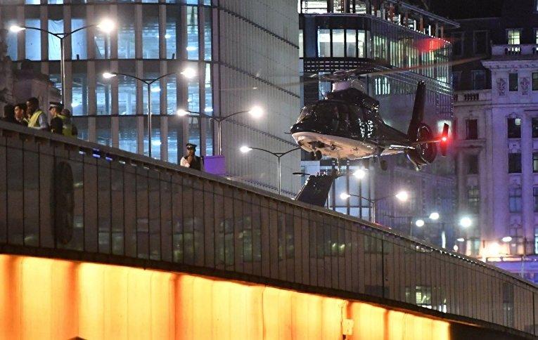 Полиция Лондона сообщила о террористических атаках в Лондоне