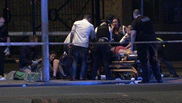 Пострадавшие в лондонском теракте