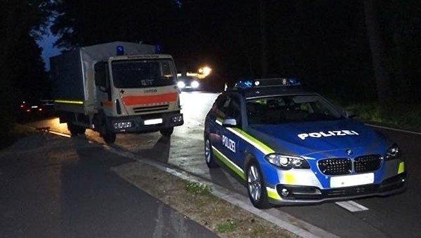 На месте убийства 5-летнего ребенка в Германии
