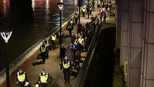 На месте теракта в Лондоне