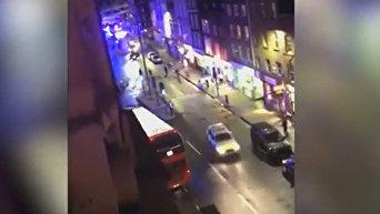 Очевидец заснял первые минуты после теракта у Боро-Маркета в Лондоне