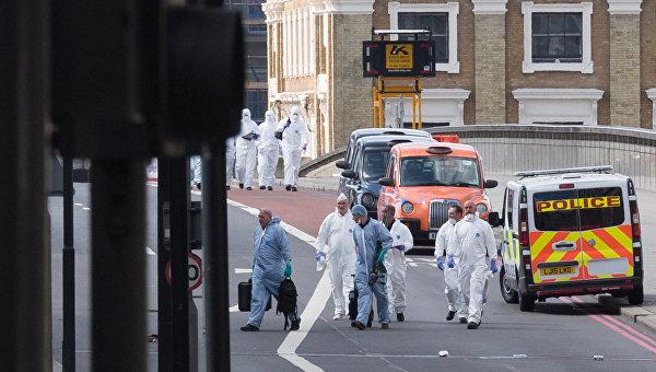 Ситуация на месте терактов в Лондоне