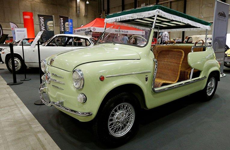 Всемирно известный автосалон ретро-автомобилей в Люцерне