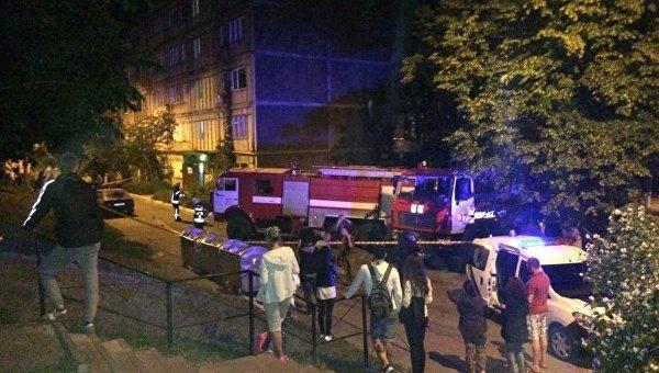 Под Киевом произошел мощный взрыв в квартире