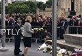 Траурная церемония в Лондоне. Видео