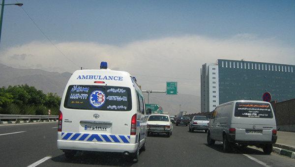 Скорая в Иране