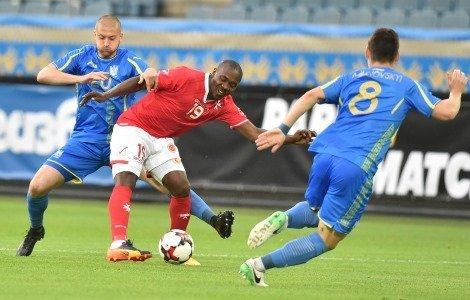 Товарищеский футбольный матч Украина - Мальта