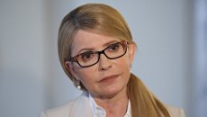 Народный депутат Юлия Тимошенко в кулуарах Верховной Рады Украины