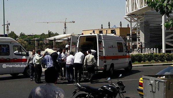 Атаки в Тегеране устроили выходцы из Ирана