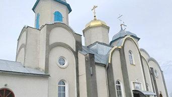 Храм УПЦ МП в Тернопольской области. Архивное фото
