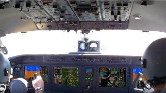 В сеть попало эффектное видео полета нового украинского Ан-132D