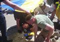 Земельный вопрос. В Одессе протестующие жгут шины и файеры