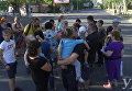 Митингующие перекрыли дорогу в Херсоне, требуя вернуть газ и свет