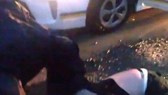 Погоня со стрельбой в Ужгороде. Видео